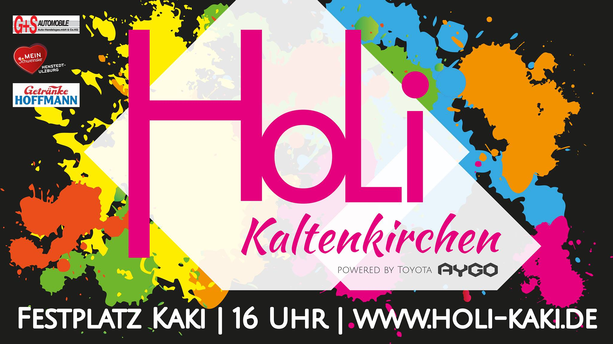 Holi Festival Kaltenkirchen am 25. August 2018 16.00 - 22.00