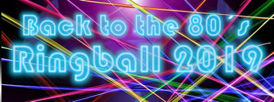 Back to the 80's das Motto des Ringballs am 2. Februar 2019 im Dreiklang-Hotel